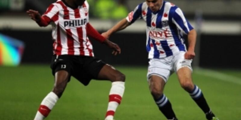 PSV'ye Heerenveen şoku
