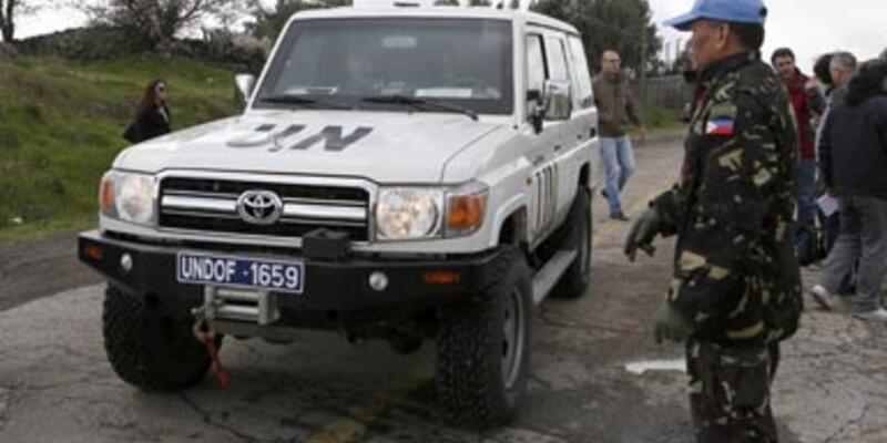 BM askerleri alıkonuldu