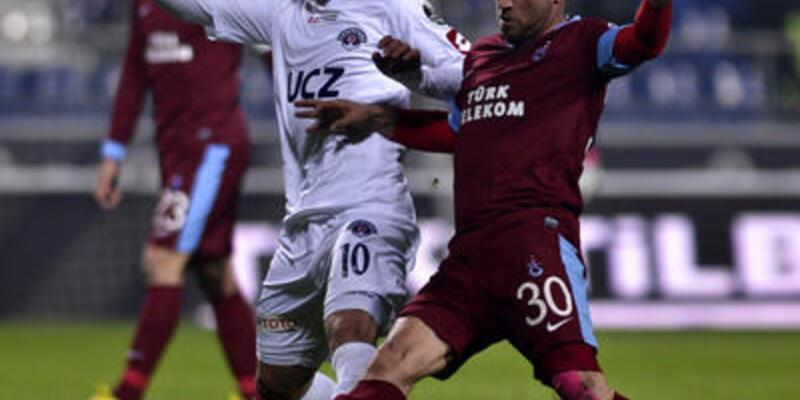 Trabzonspor düşme tehlikesi yaşıyor
