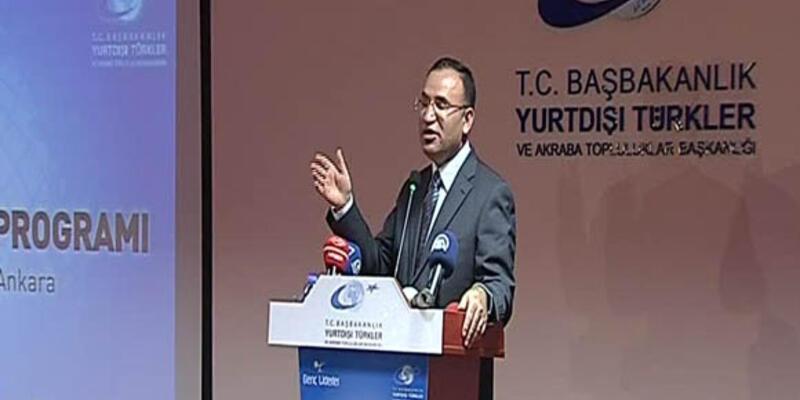 """Bozdağ'ın """"Türklerin asimilasyonu"""" kaygısı"""
