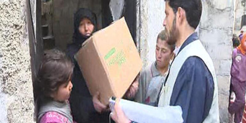 Suriye'de çatışmalar halka yardımı zorlaştırıyor