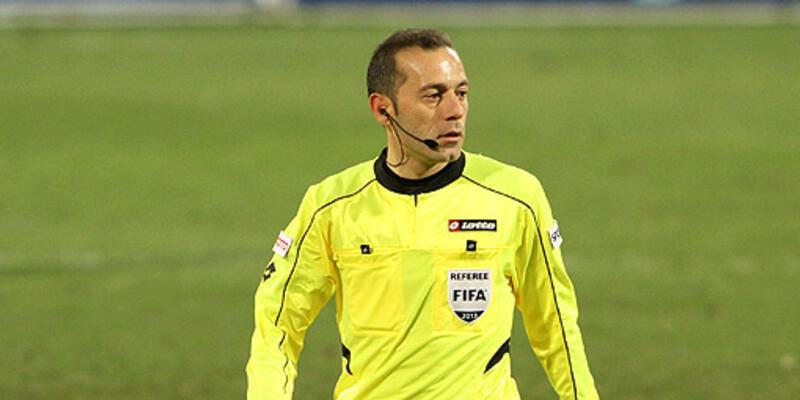ManU-Real maçı Cüneyt Çakır'ın