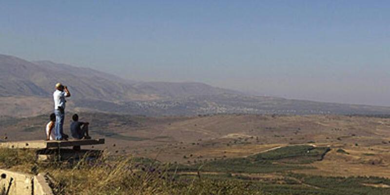 4 havan mermisi Golan Tepeleri'ne isabet etti