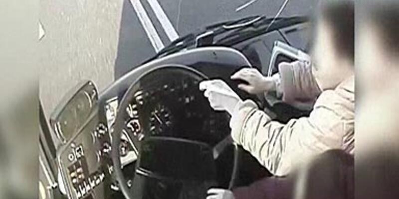 Şoför bayıldı, kadınlar koştu!