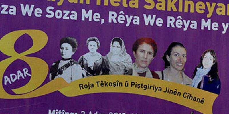 Kadınlar günü miting afişlerine toplatma kararı