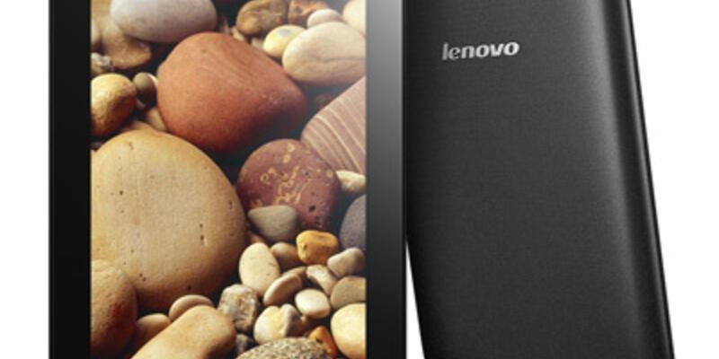 Lenovo ideaTab'ları tanıttı
