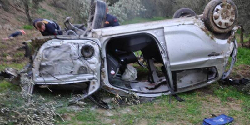 İki üniversiteli kazada öldü