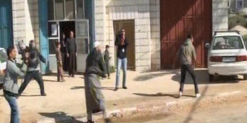 Batı Şeria'da Filistinlilere saldırı