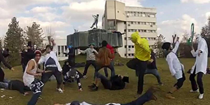 'Harlem Shake' Ankara'yı da sardı