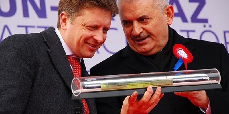Samsun-Kavkaz Tren Feri Hattı açıldı