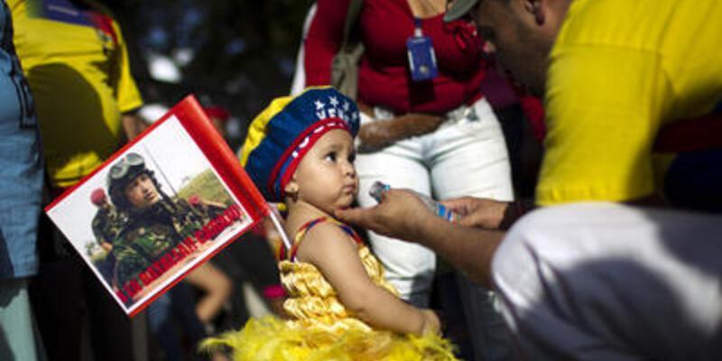 Venezuela'da Chavez coşkusu