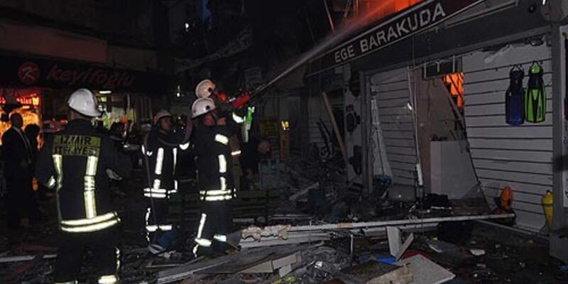 İzmir'de patlama: 2 yaralı
