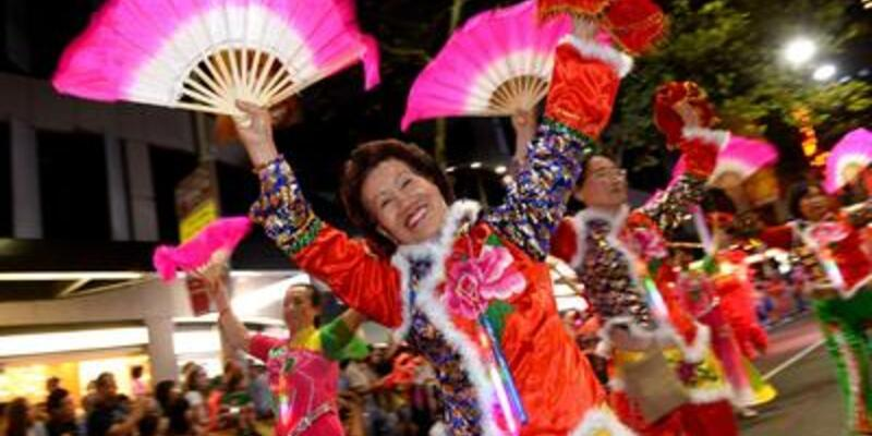 """Sydney'de """"Yılan Yılı"""" kutlamaları"""