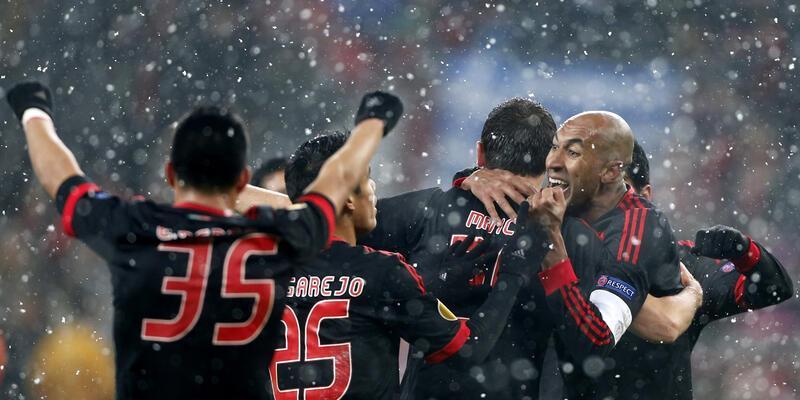 Benfica evine avantajlı döndü