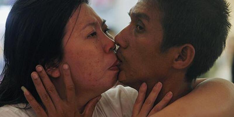 Tayland'da en uzun öpüşme rekoru