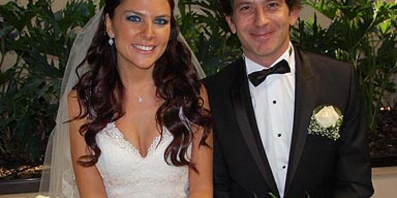 Ece Üner ve Deniz Bayramoğlu evlendi