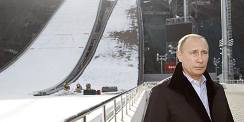 Olimpiyat inşaatlarının gecikmesi Putin'i kızdırdı