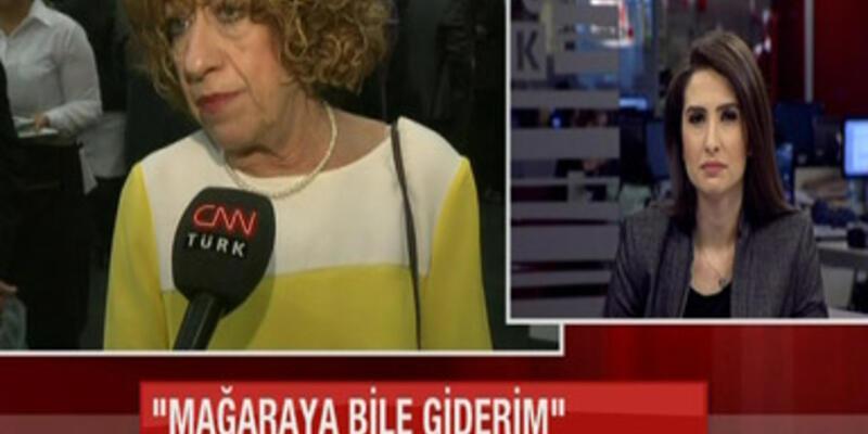 Ayşen Gruda o sözleri CNN TÜRK'e anlattı