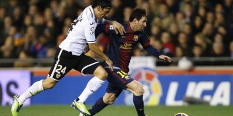 Valencia - Barcelona: 1-1