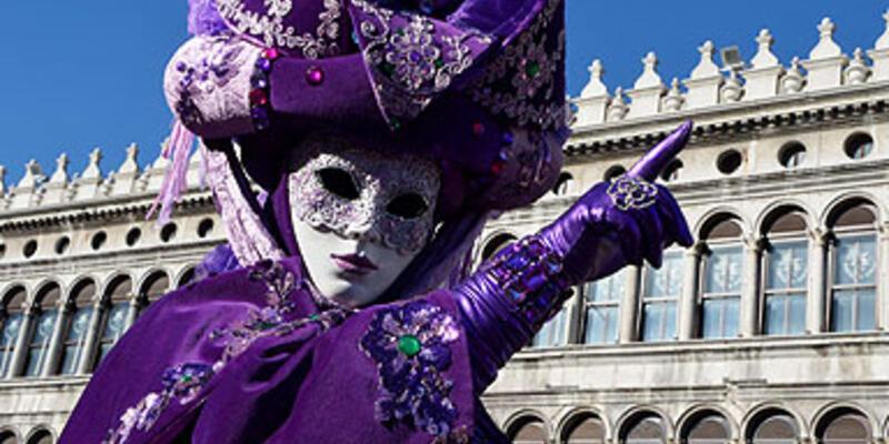 Venedik'te karnaval zamanı...