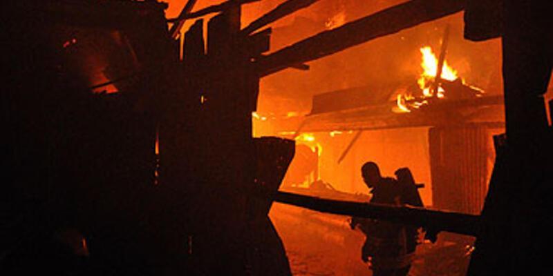 Sivas'ta korkutan yangın!