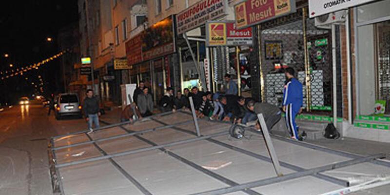 Bursa'da lodos yıktı geçti!