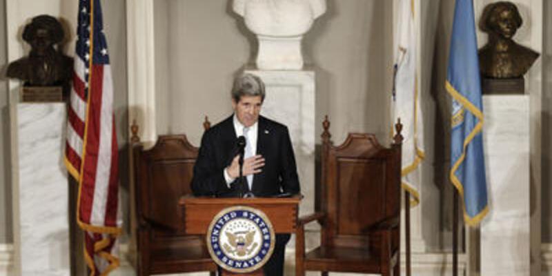 Kerry yemin ederek görevine başladı