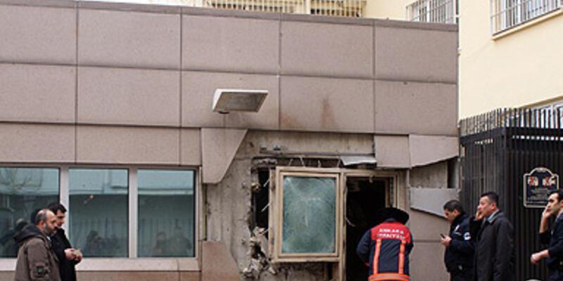 Ankara'daki ABD Büyükelçiliği'ne saldırı