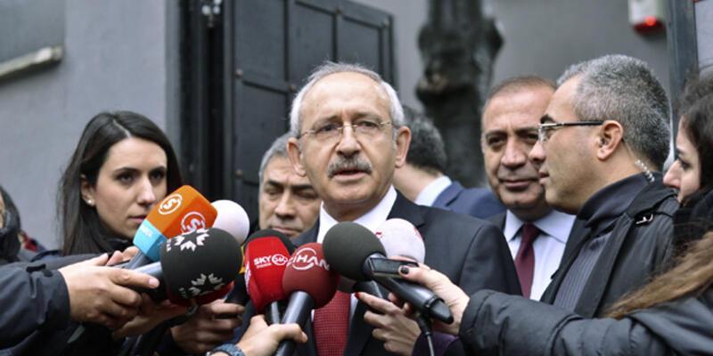 Kılıçdaroğlu, Soner Yalçın'ı ziyaret etti