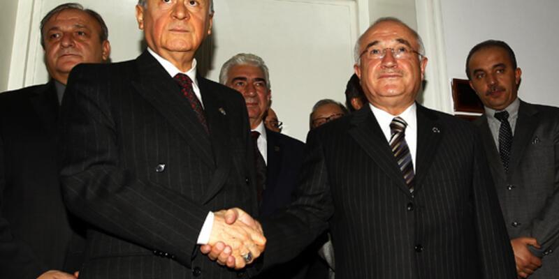 Cemil Çiçek, Devlet Bahçeli ile görüştü