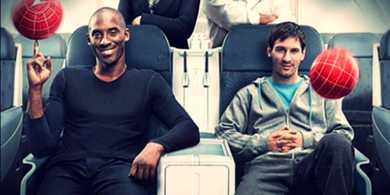 Messi ve Kobe'li reklam rekor kırdı