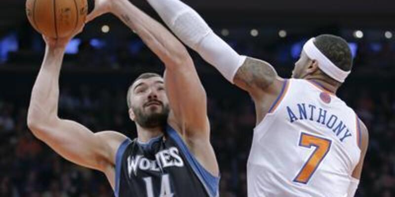 Carmelo Anthony, Knicks'i uçurdu