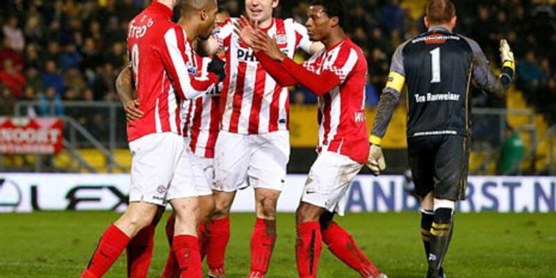 PSV'den yarım düzine gol