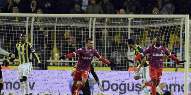 Fenerbahçe'ye evinde ağır darbe