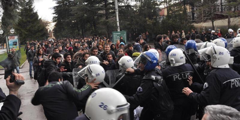 """ODTÜ'lü öğrencilerin evlerine """"terör"""" baskını"""