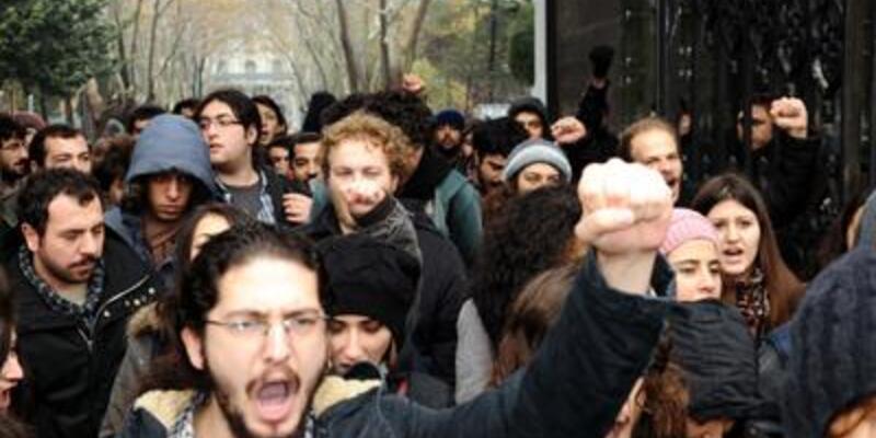 """Beyazıt'ta """"ODTÜ"""" protestosu"""