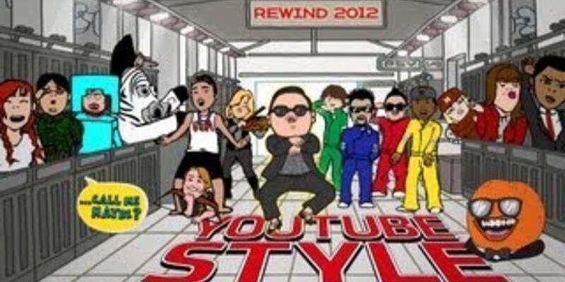 4 dakika 15 saniyede YouTube best of 2012