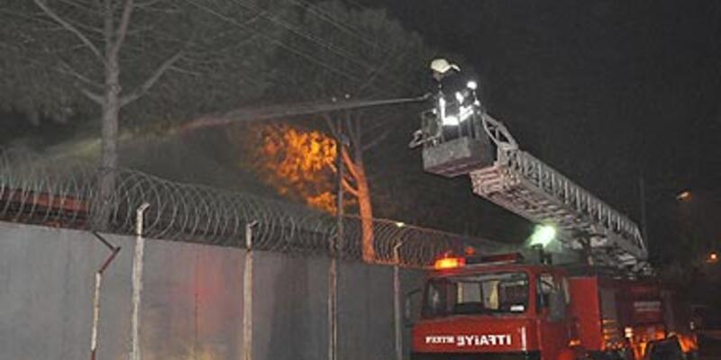Akhisar Ceza ve Tutukevi'nde yangın