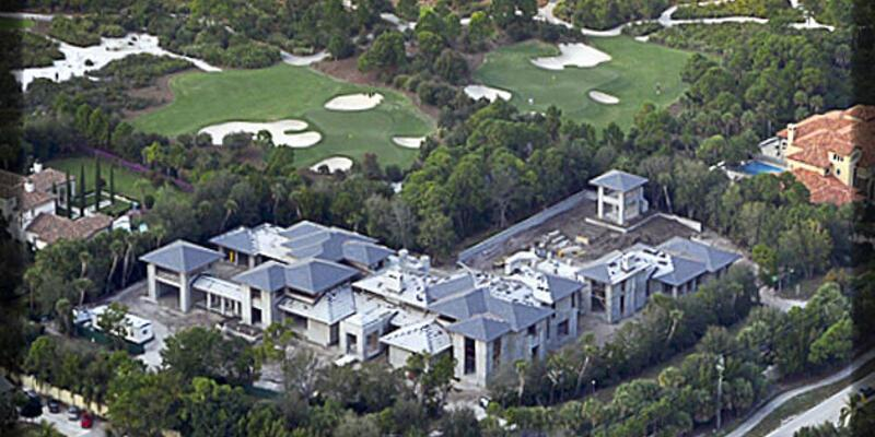 Michael Jordan'ın 12.4 milyon dolarlık malikanesi