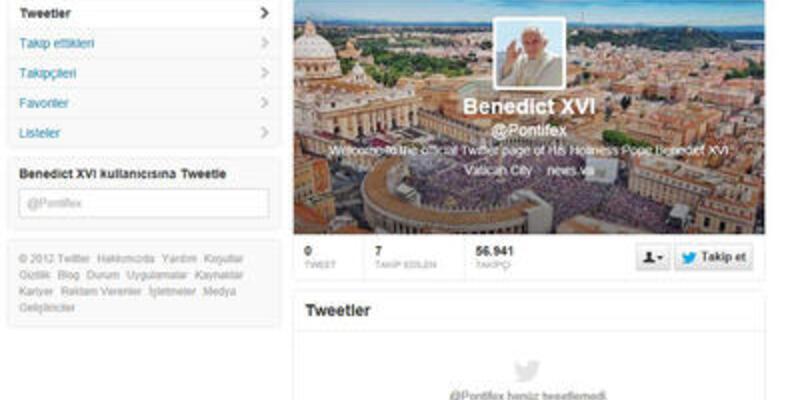 İşte Papa'nın merakla beklenen ilk tweet'i