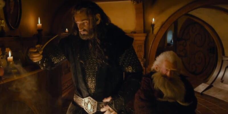 Hobbit'ten bir yeni klip daha...