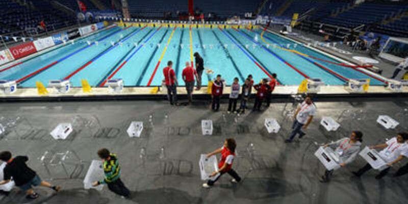 Dünya Kısa Kulvar Yüzme Şampiyonası başladı