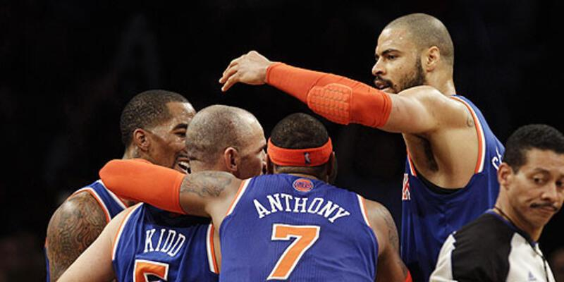 New York derbisi Knicks'in