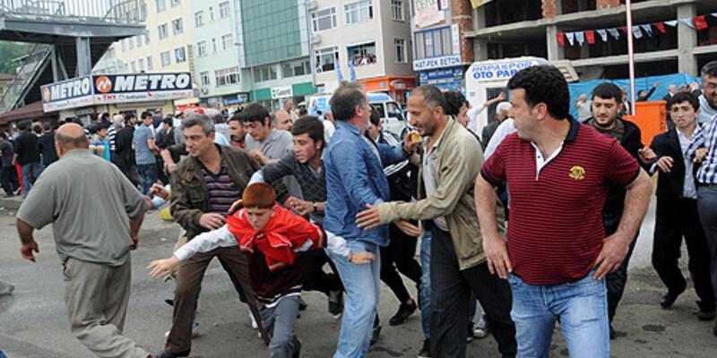 Hopa olaylarını protestoya dava