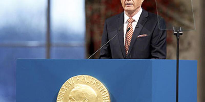 """Nobel töreninde ''Türkiye-AB"""" gündemi"""