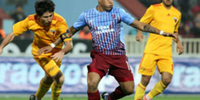 Trabzonspor yine puan kaybetti