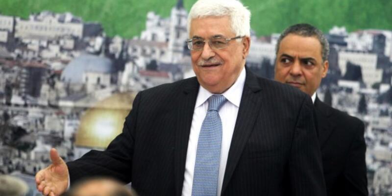 Abbas teşekkür için geliyor
