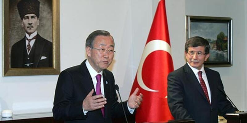 Ban Ki-Mun'dan Suriye isyanı