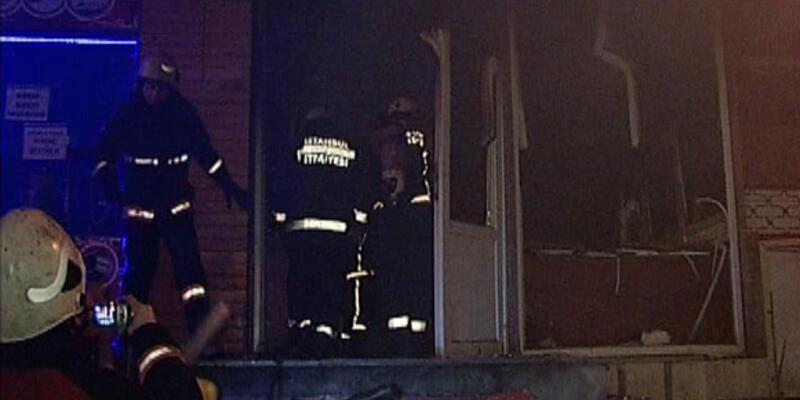Yangından komşuları kurtardı