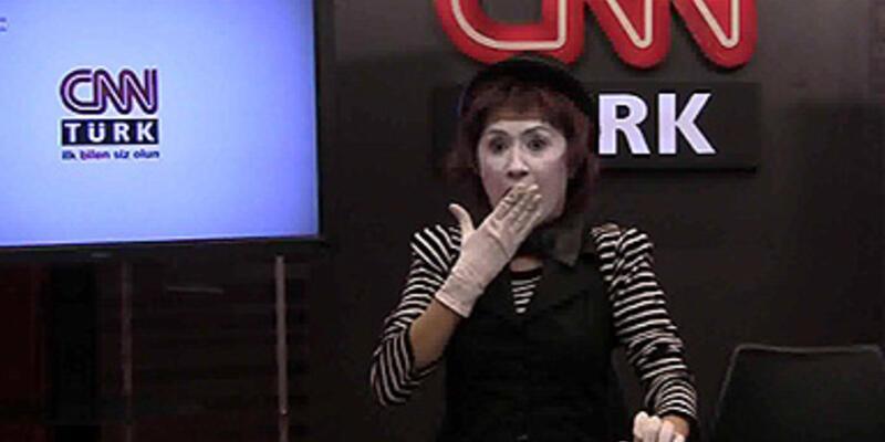 CNN TÜRK standında sıra dışı şov